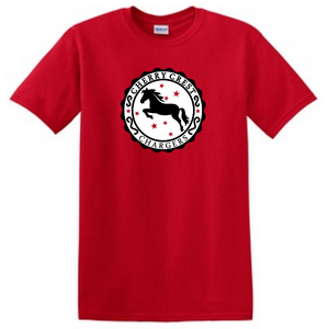 Red Cherry Crest T-shirt
